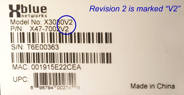 Revision V2