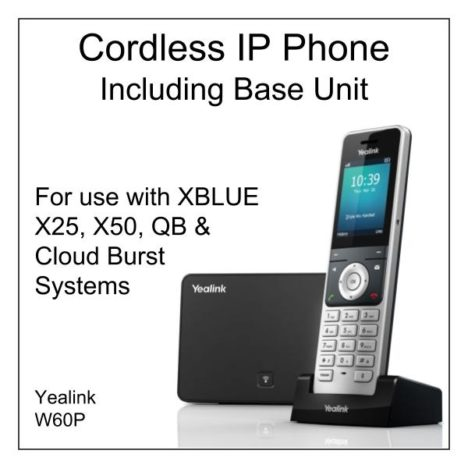 IP Cordless Phone with Base Unit