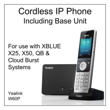 IP Cordless Phone with Base Unit